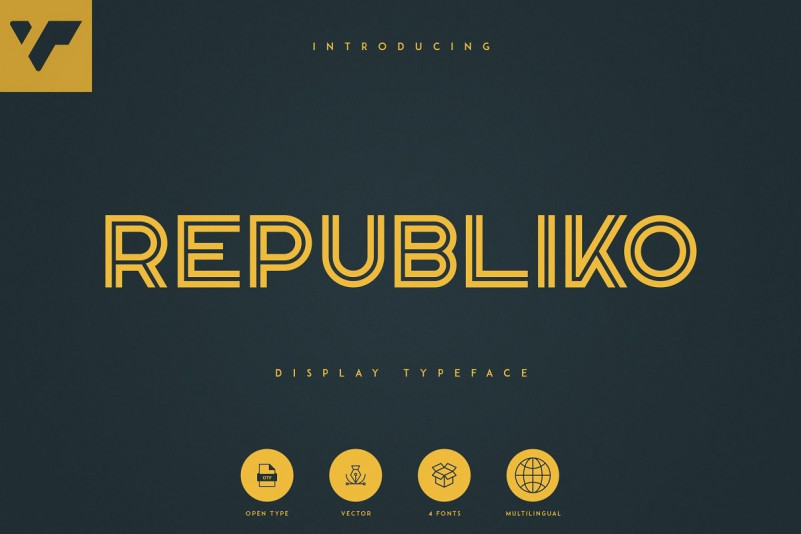 Republiko Font