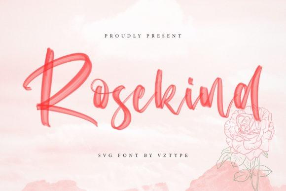 Rosekind Font