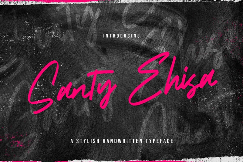 Santy Ehisa Font