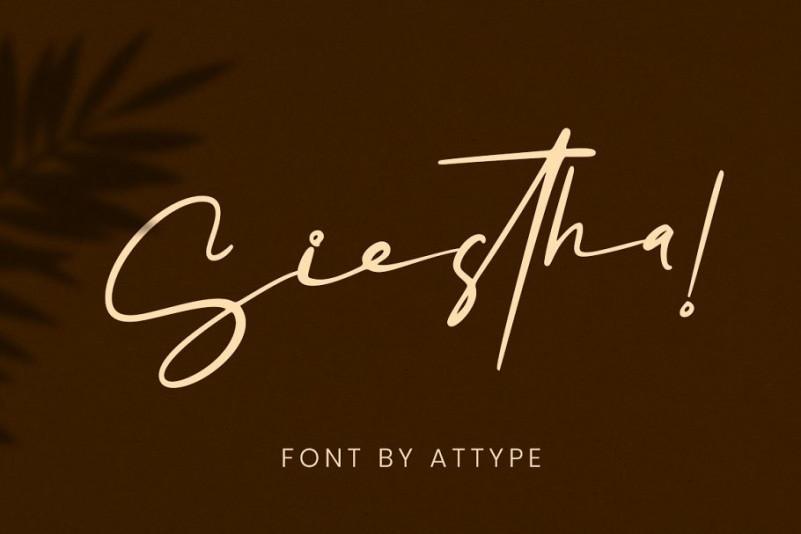 Siestha Font