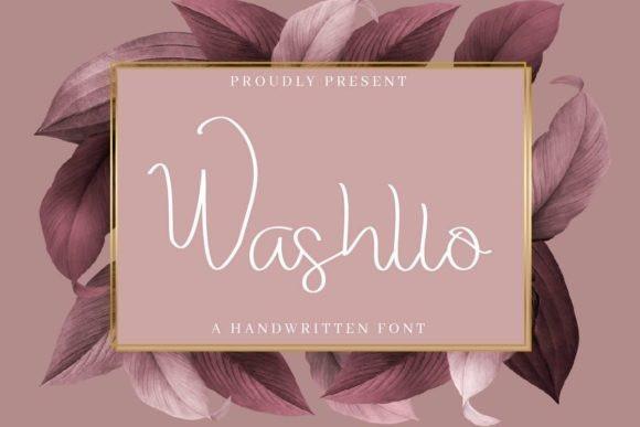 Washllo Font