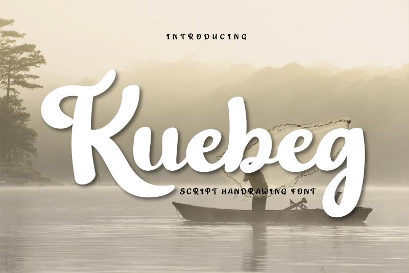 Kuebeg Font
