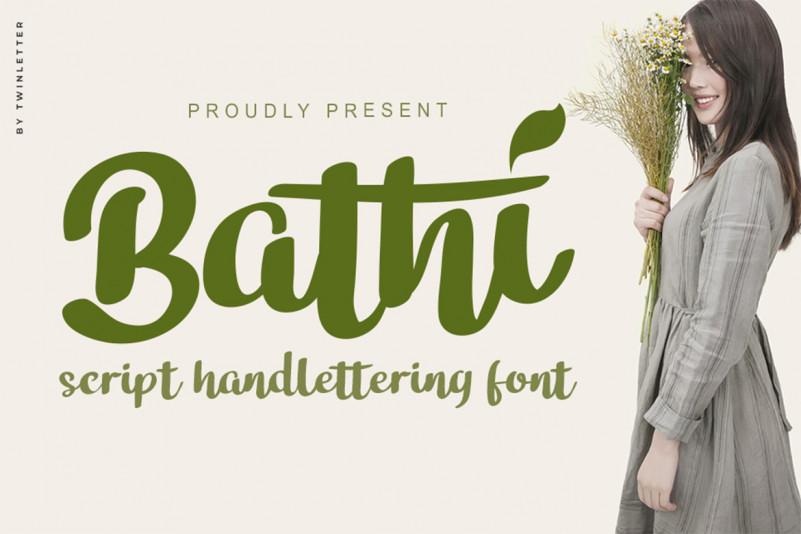 Bathi Font