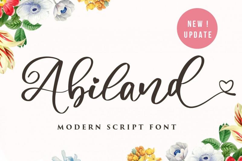Abiland Font