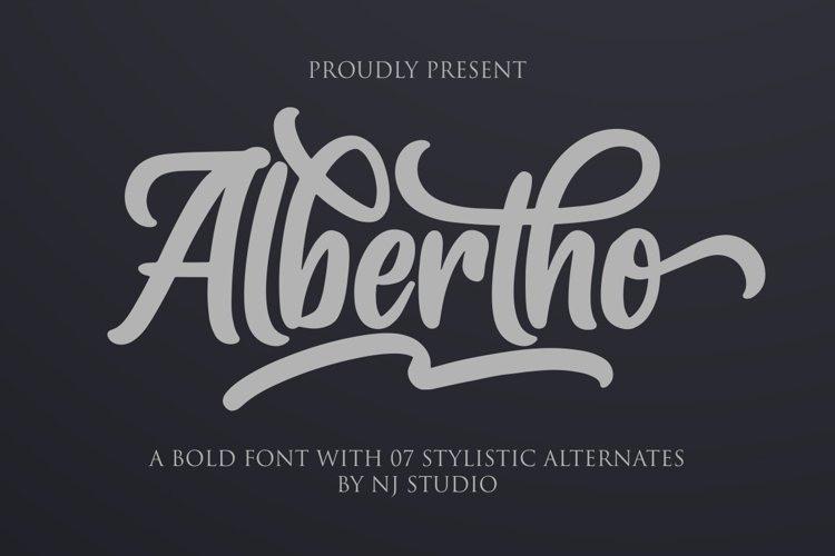 Albertho Font