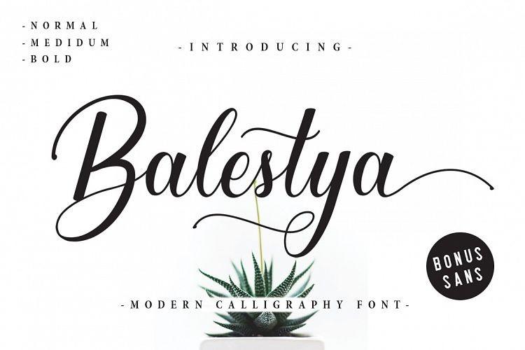 Balestya Font