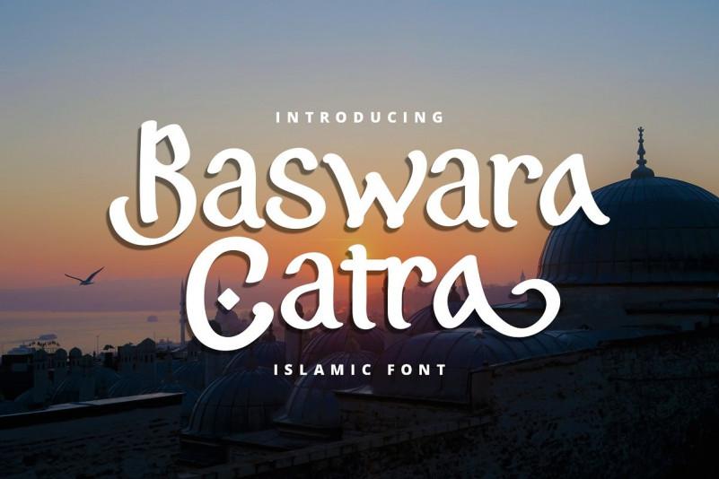 Baswara Catra Font