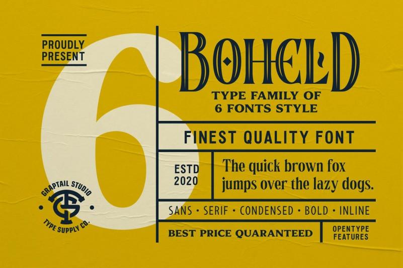 Boheld Font