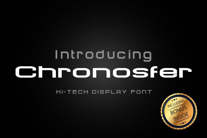 Chronosfer Font