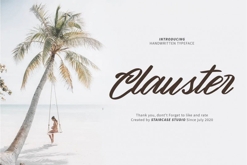 Clauster Font