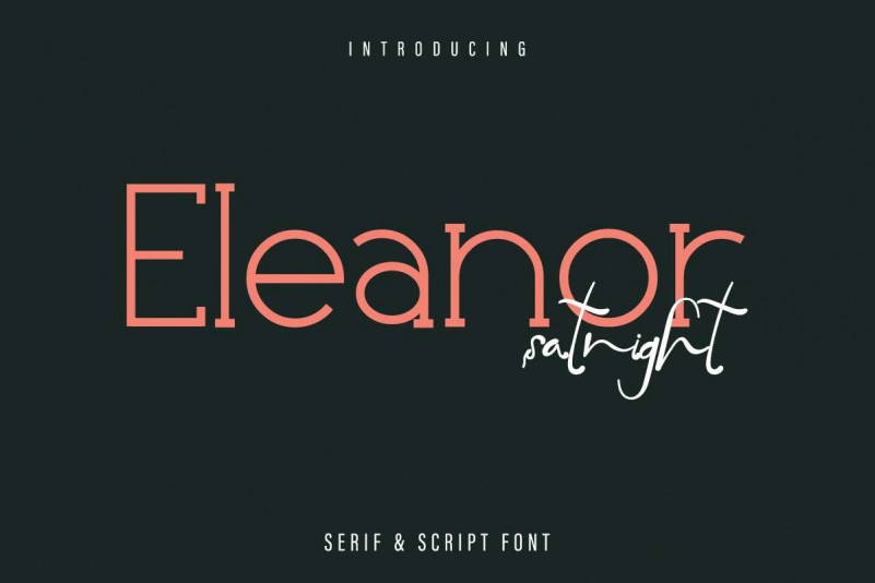 Eleanor Satnight Font