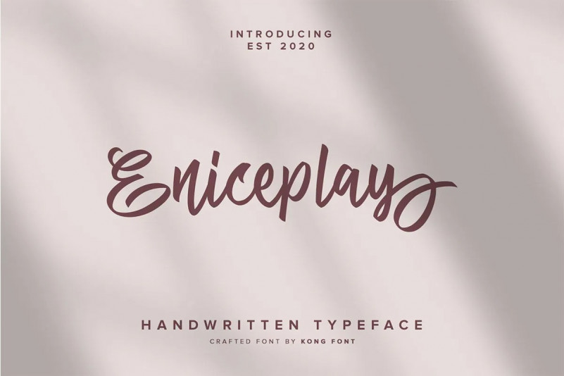 Eniceplay Font