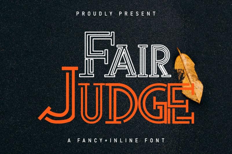 Fair Judge Font