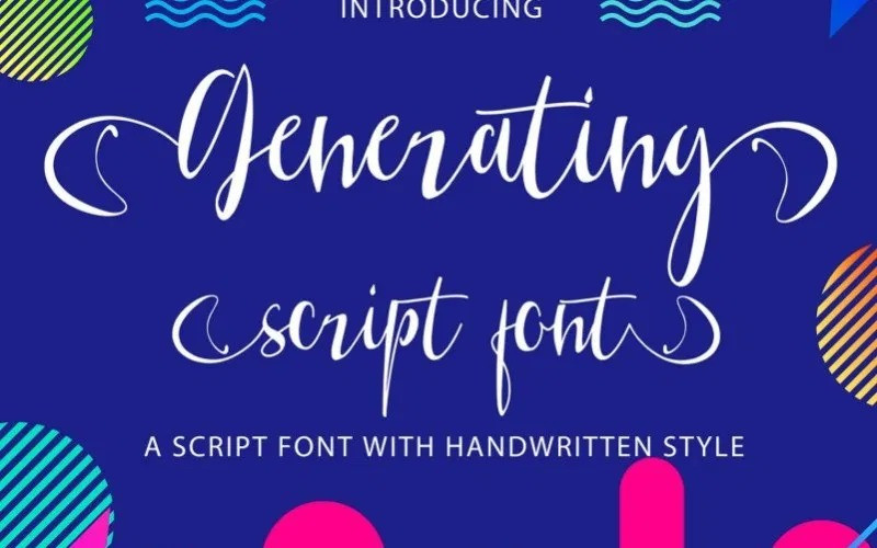 Generating Font