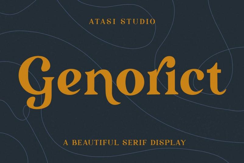 Genorict Font
