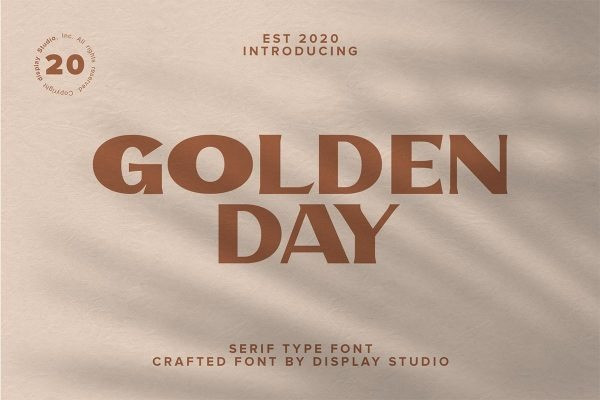 Golden Day Font