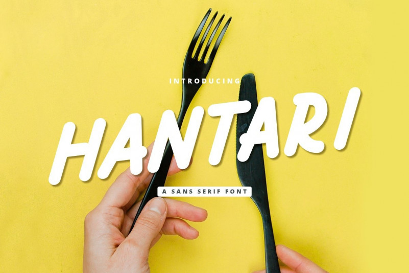 Hantari Font