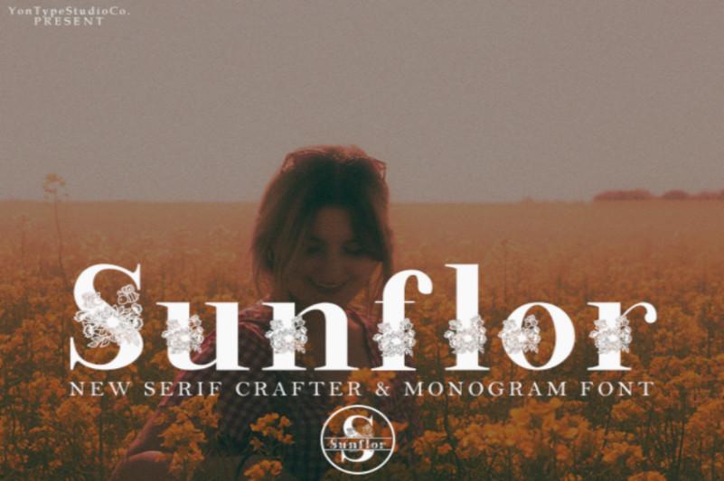 Sunflor Font