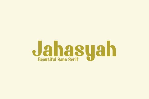 Jahasyah Font