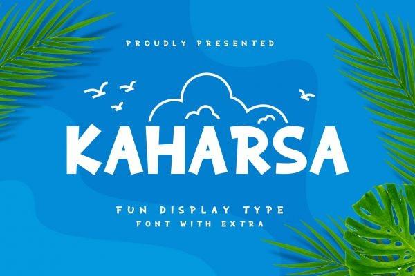 Kaharsa Font