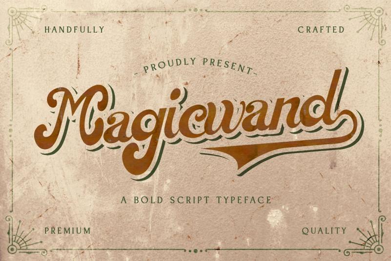 Magic Wand Font