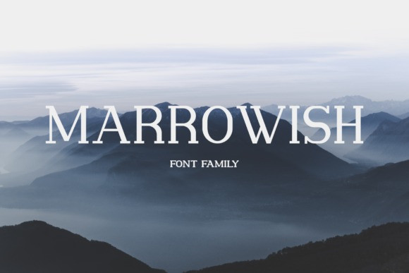 Marrowish Font
