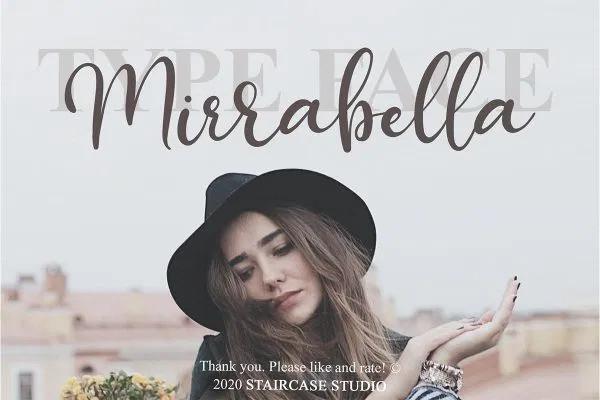 Mirrabella Font