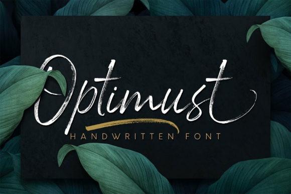 Optimust Font