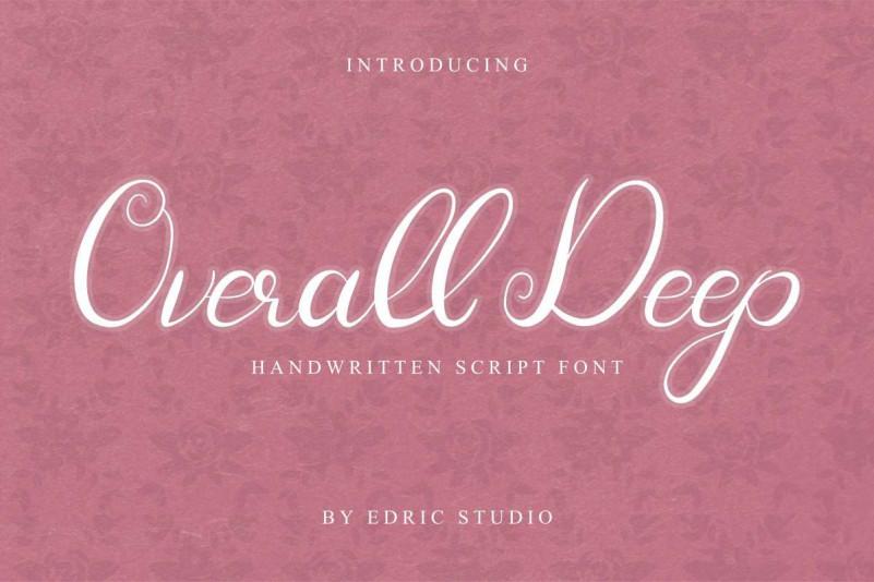 Overall Deep Font
