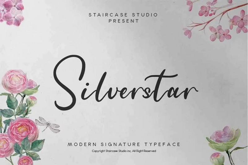 Silverstar Font
