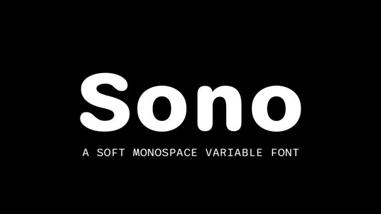 Sono Font