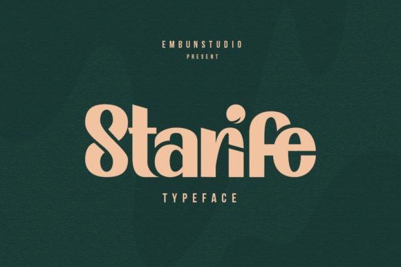 Starife Font