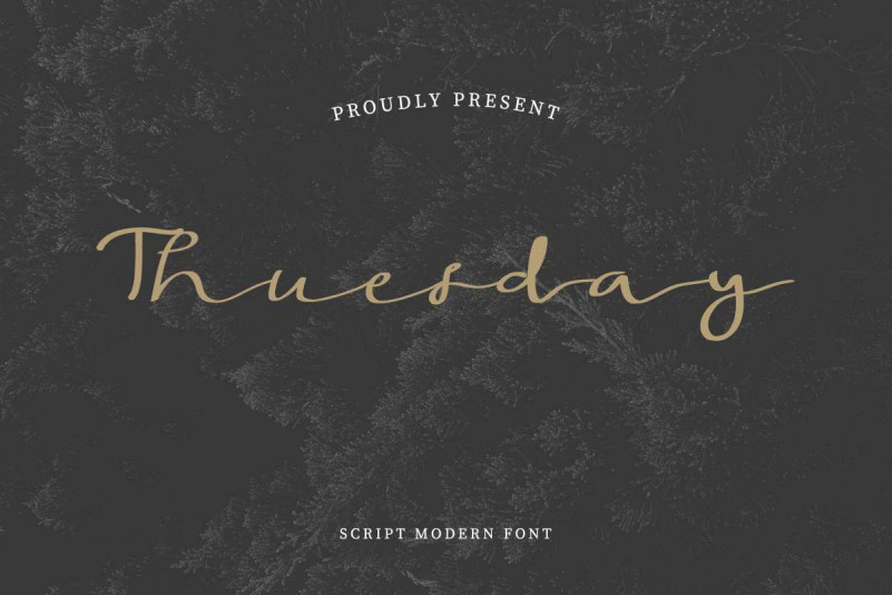 Thuesday Font