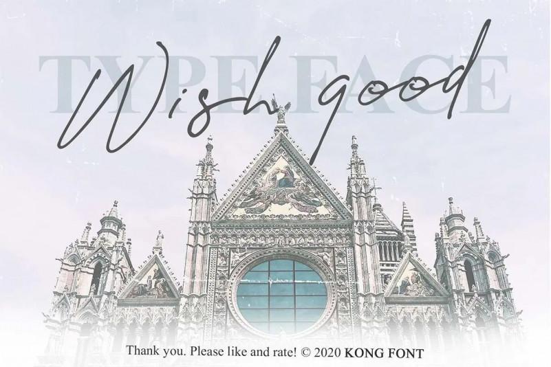 Wish Good Font
