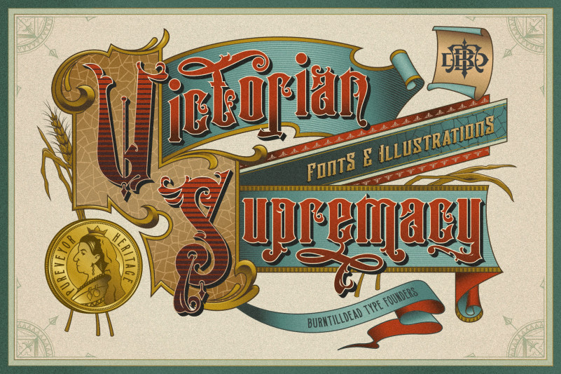 Victorian Supremacy Font