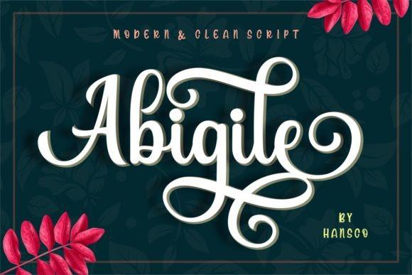 Abigile Font