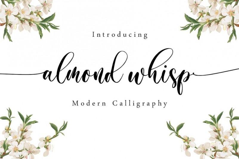 Almond Whisp Font