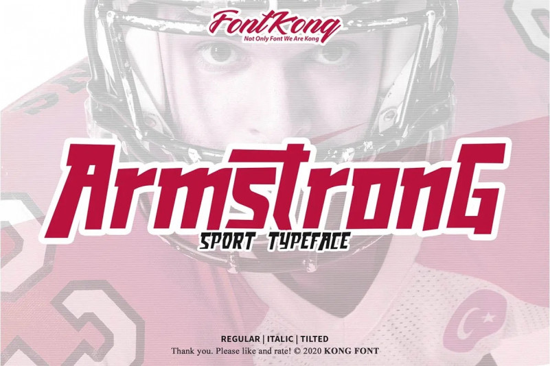 Armstrong Font