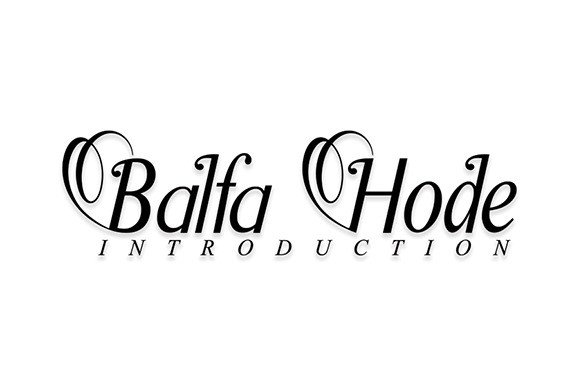 Balfa Hode Font