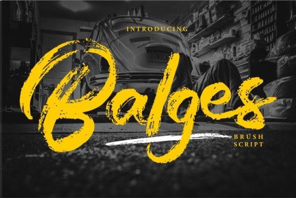 Balges Font