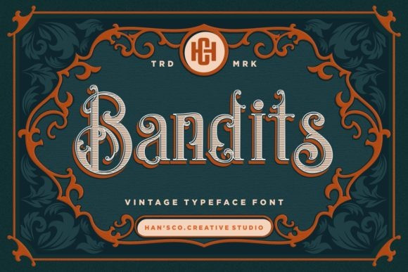 Bandits Font
