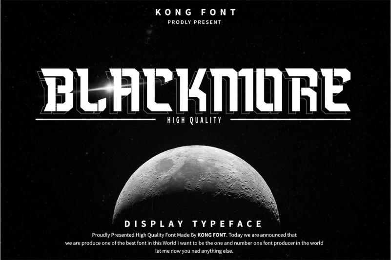 Blackmore Font