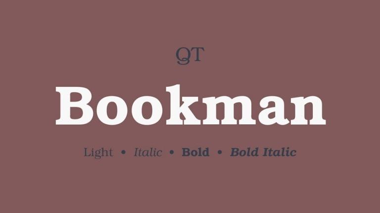 Bookmann Font