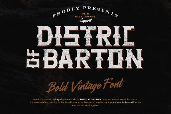 Distric of Barthon Font