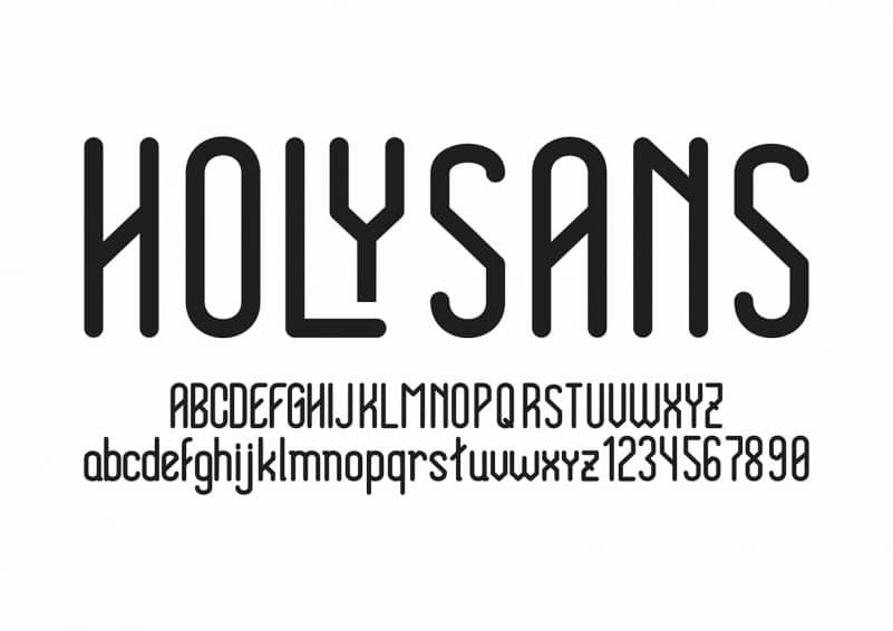 Holy Sans Font