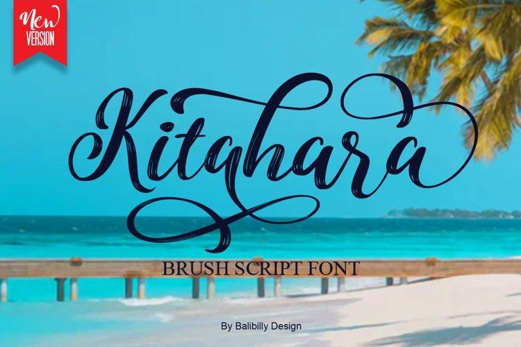 Kitahara Brush Font