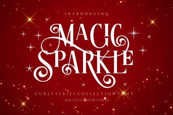 Magic Sparkle Font