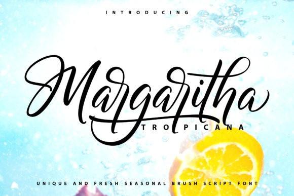 Margaritha Tropicana Font