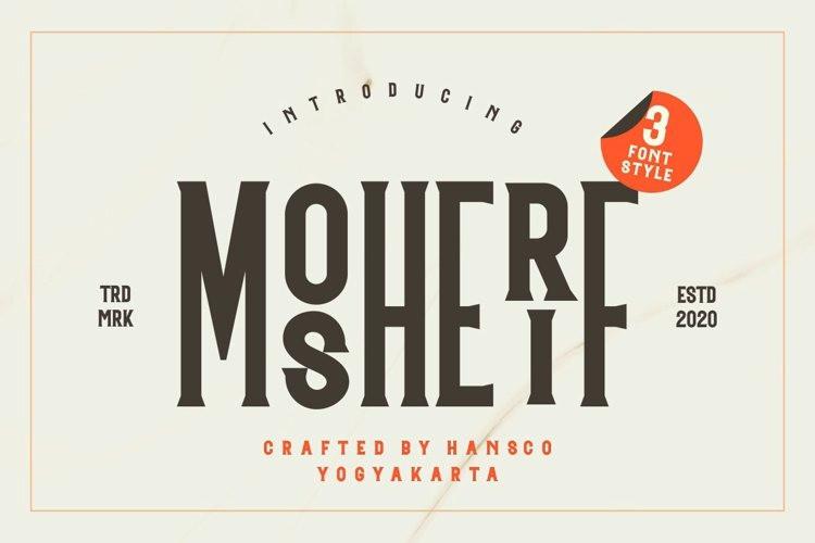 Mosherif Font