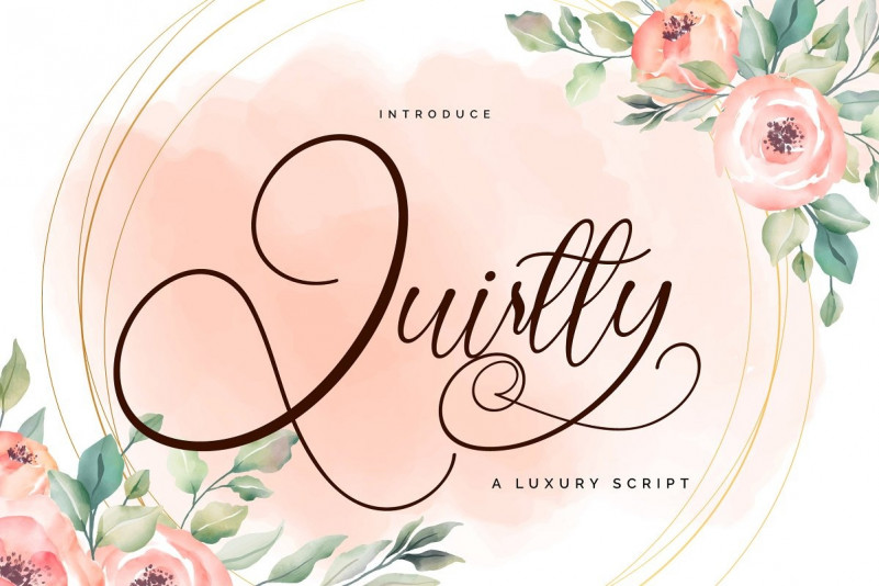 Quirtty Font